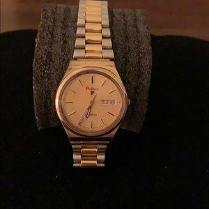Men's Pulsar Wristwatch - Two Tone band